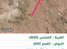أرض جنوب عمان المشتى للبيع