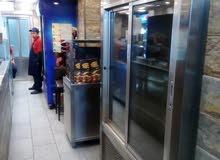 مطعم للبيع مقابل البوابه الرئيسيه للجامعه الاردنيه