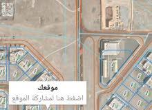 موقع فريد ونادر للبيع أرض سكنية المعبيلة الثامنة أول خط يمكن استعمالها تجاري