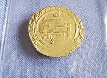 دينار ذهب من الخلافة العباسية للخليفة الراضي بالله لعام 323 هجري