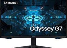 Samsung G7 27inch Gaming Monitor 240HZ brand new