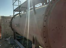 غلاية بخار جديدة بدون مبخرة للبيعNew steam boiler weight 14 ton for sale