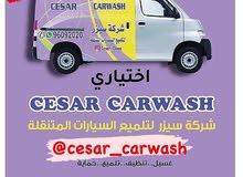 شركة سيزر لغسيل وتلميع ووقاية السيارات