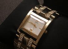 Guss  Gold  Watch