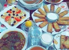 حلويات واكلات منزلية