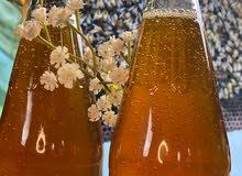 عسل سمر يمني طبيعي مفحوص في المختبر