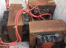 محول كهربائي من 190 الى 380 فولت 3 فاز 14 امبير