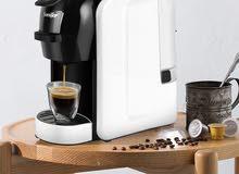 ماكنة صنع القهوة بثلاثة في كبسولة واحدة باقي حبتين فقط !!!