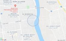 ارض في المنشيه تفتح على النيل للبيع