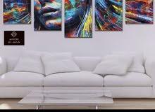 احدث انواع ساعات الحائط3D - لوحات ديكور ،، للطلب والاستفسار اتصل الان 66907783