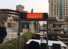 دفايات كهربائية لاول مرة بالكويت توفير فى الطاقة للمطاعم والمنازل امان جدا
