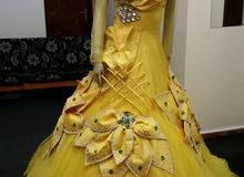 فستان عقد نقش أو خطوبه .