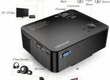 بروجكتر Full HD  قوة اضاءة جيدة و يدعم 1080p
