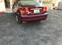 Honda Civic 2004 For sale - Maroon color