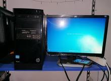 كمبيوتر مكتبي كامل من شركة اتش بي ci3