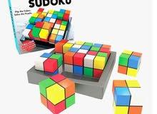 لعبة سودوكو المكعبات
