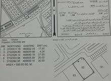 ارضين شبك في الملتقي صحار المربع 12 للبيع