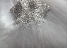 بدلة عروسه بيضاء للبيع