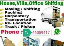 shifting moving Carpenter   pikup and transports service