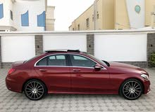 Red Mercedes Benz C 200 2015 for sale