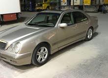 Mercedes Benz E 240 2002 For sale - Beige color