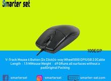 ماوس  A4tech OP-620D- Optical USB Mouse 2xClick- Black