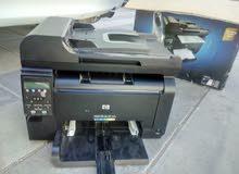 طابعه ليزر ملون hp laser color printer