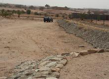 أرض على 4 شوارع بها بئر ماء و100 نخلة ومحوشه تقع في مخطط تجاري السيل الصغير