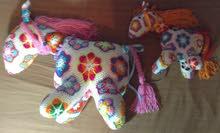 حصان لعبة من الكروشيه