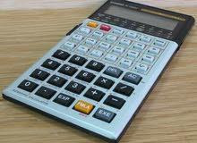 آلة حاسبة كاسيو fx5000 .قابلة للبرمجة .