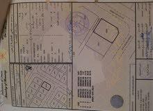 أرض للبيع ولاية قريات الساحل رقمها (2004) كورنر مساحتها (610م2)