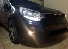 Kia Rio 2013 For sale - Black color