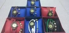 ساعة نسائية وسوار بنفس الوقت Watch and bracelet same time