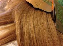 وصلات شعر هندي طبيعي جميع الألوان والقياسات الى 80سم