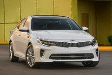 Kia Optima 2016 For Rent - White color