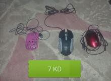 mouse gaming 5 KD / 2 mouse KD بحالة ممتازة جدا