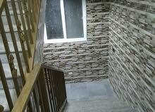 طابق اول فني 200 متر + ثاني فني 200 متر + ثالث شقة واحده 100 متر تشطيب سوبر ديلو