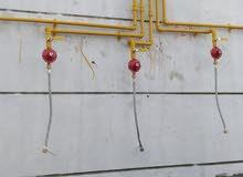 Gass pipeline instalation