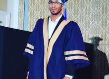 مهندس مدني حديث التخرج خريج ماليزيا  الجنسية يمني  عضو في هيئة المهندسين