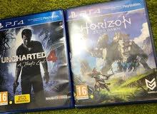 Uncharted 4 Horizon zero Dawn