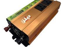 محول طاقة بقوة 1000 واط تيار مستمر من 12 - 220 فولت