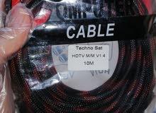 وصلة HDMI جديدة 10 امتار للبيع