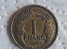عملة فرنسية 1932