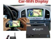 جهاز عرض شاشة الموبايل على شاشة السيارة