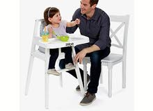 كرسي طعام استعمال خفيف من امريكا بحال الجديد