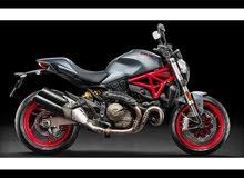 wanted Ducati monster مطلوب دراجة دوكاتي