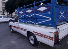 تويوتا هايلكس موديل 1981 مرخص سنه كامله متور ديزل 2L المتور و القير و