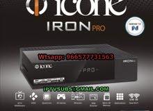 رسيفر ايكون ايرون برو ICONE IRON PRO 4K