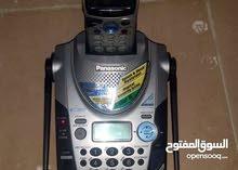 تليفون بانسونيك لاسلكى ماليزى  مستعمل استعمال مكتب استثمار للتواصل 66678223