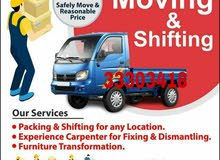 Doha Services Movers & Psckers Carpenter andTransportation service 33303418